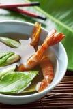 Asian seafood soup Stock Photos