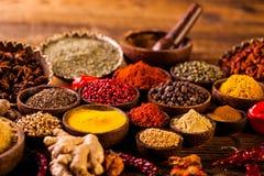 Asian seasoning, spices theme Stock Photo