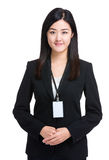 Asian secretary Stock Photography