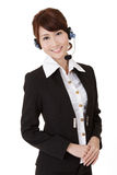 Asian secretary woman Stock Image