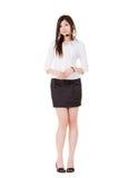 Asian secretary woman Stock Photo