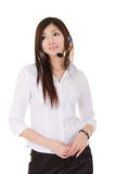 Asian secretary woman Stock Image
