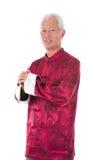 Asian  senior chinese man Royalty Free Stock Images