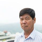 Asian senior citizen Stock Image