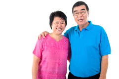 Asian senior couple Royalty Free Stock Image