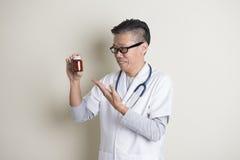 Asian senior doctor Royalty Free Stock Image