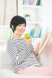 Asian senior female Stock Photography