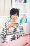 Asian senior female Royalty Free Stock Images