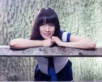 Free Asian Senior High Schoolgirl Stock Images - 55476044