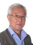 Asian senior man Royalty Free Stock Photos