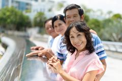 Asian senior people Royalty Free Stock Photography
