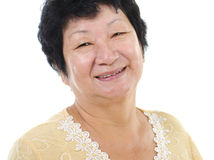 Asian senior woman Stock Photo