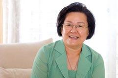 asian senior woman Стоковое Изображение
