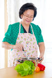asian senior woman Стоковые Изображения