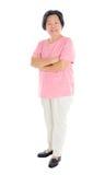 Asian senior woman Royalty Free Stock Images
