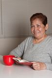 Asian senior woman grandmother Royalty Free Stock Images