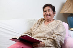 Asian senior woman grandmother Stock Photography