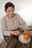 Asian senior woman grandmother Royalty Free Stock Photo
