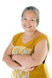 Asian senior woman Stock Photography