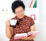 Asian senior woman Royalty Free Stock Photography