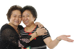 Asian senior women Stock Photography