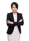Asian serious business assistant Royalty Free Stock Photos