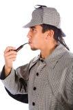 Asian sherlock holmes Royalty Free Stock Image