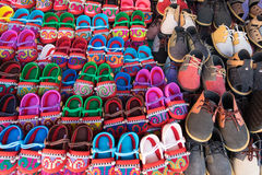 Asian shoes Stock Photography