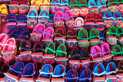 Asian shoes Stock Images