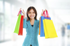 Asian Shopper Royalty Free Stock Image