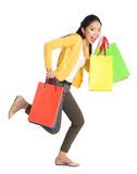 Asian shopper Royalty Free Stock Images