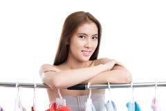 Asian shopper Royalty Free Stock Photos