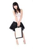 Asian shopping girl Royalty Free Stock Photos