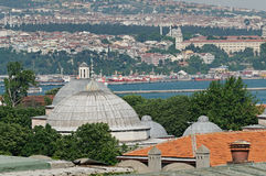 Asian shore of Istanbul Royalty Free Stock Images