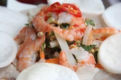 Asian shrimp salad Stock Photos