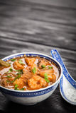 Asian shrimp soup Royalty Free Stock Photos