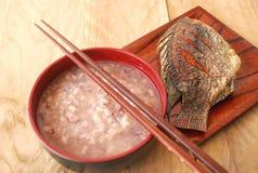 Asian simple breakfast Stock Photos