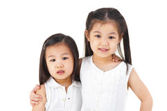 Asian sisters Royalty Free Stock Image