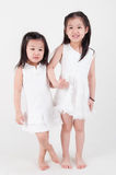 Asian sisters Stock Photo