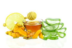 Asian skincare therapy from nature. Stock Photography