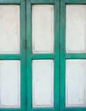 Asian slide wooden door Royalty Free Stock Photos
