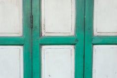 Asian slide wooden door Stock Images