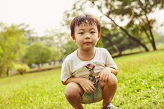 Asian small boy Stock Images
