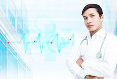Asian Smart Doctor Stock Images