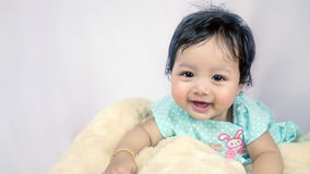 Asian Smiling baby girl Stock Photography