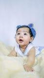 Asian Smiling baby girl Royalty Free Stock Image