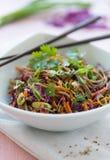 Asian Soba Salad Royalty Free Stock Images