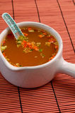 Asian soup Royalty Free Stock Photo