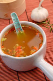 Asian soup Stock Photo