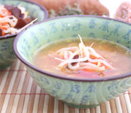 Asian soup Royalty Free Stock Photos